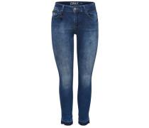 Skinny Fit Jeans Carmen Reg Ankle blau