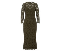 Kleid Lace Evening Dress dunkelgrün