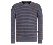 Sweatshirt 'Indifference Of Good Men II' indigo