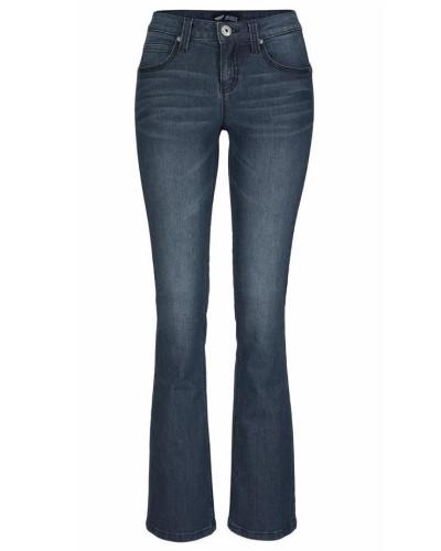 Bootcut-Jeans 'Shaping' dunkelblau