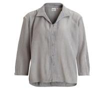 3/4-ärmeliges Hemd grau