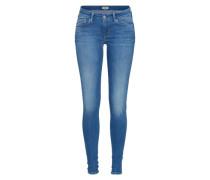 Skinny 'Pixie' blau