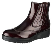 Mid Heel Chelsea Boot bordeaux