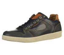Sneaker blau / orange