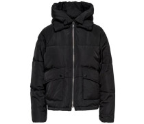 Oversize Jacke schwarz