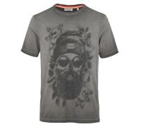 T-Shirt 'Obok' graumeliert