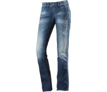 Heidi Straight Fit Jeans Damen blue denim