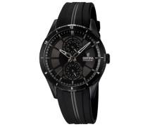 Multifunktionsuhr 'f16843/1' schwarz
