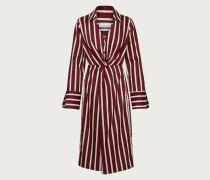 Kleid 'Desiree' creme / bordeaux