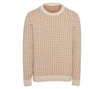 Pullover ' Valley Jacquard o-neck knit '
