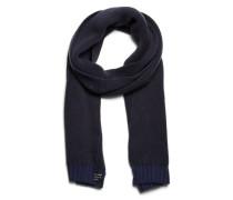 Klassischer Schal blau