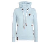 Female Sweatshirt 'Debil mit Stil IV' azur