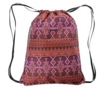'Cinch' Daypack Beutel helllila / dunkelorange / pitaya