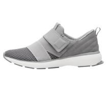 Klettverschluss-Sneaker grau