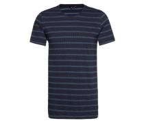 T-Shirt 'Mort' blau