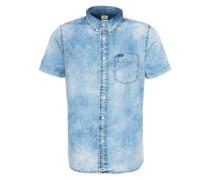 Hemd 'Button Down' blau
