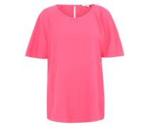 Bluse mit weiten Ärmeln pink