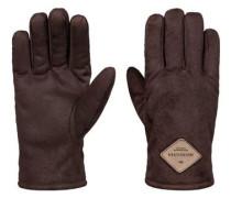 Kunst-Veloursleder-Handschuhe »Faze Daze« braun