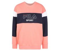 Sport-Sweatshirt 'lana' pink / schwarz