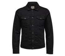 Jeansjacke Dunkle schwarz