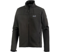'Element Track' Softshelljacke Herren schwarz