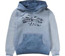 Pullover mit Kapuze Sauro für Jungen rauchblau