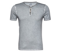 Shirt im Serafino-Style 'Ciroyas Henley' grau