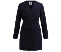 Klassischer Mantel nachtblau