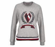 Sweatshirt »Tate Heart« graumeliert