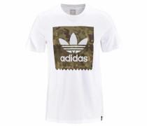 T-Shirt 'logo RMX T3' weiß