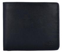 'Subway' Geldbörse Leder 11 cm schwarz
