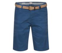 Shorts 'akm288' dunkelblau / hellbraun