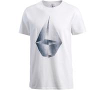 Draining T-Shirt Herren weiß