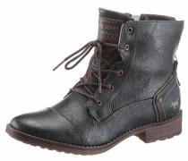 Shoes Schnürstiefelette dunkelblau / dunkelbraun