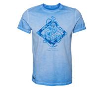 Printshirt 'orion' blau