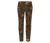 '5622 Elwood Uncovered' Mid Waist Jeans khaki