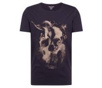 Shirt 'jordark City' taupe / schwarz
