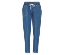 Hose aus Lyocell 'Lucky' blau