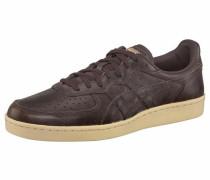 Sneaker 'gsm' beige / dunkelbraun