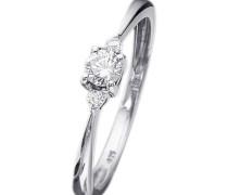 Verlobungs-/Vorsteckring Weißgold