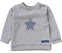 Baby Langarmshirt für Jungen grau
