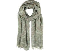 Viskose-Polyester Schal braun