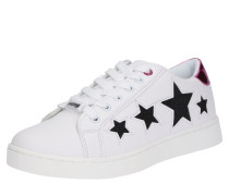 Sneaker Low 'garsa' schwarz / weiß