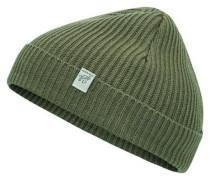 Kurze Mütze grün