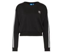 Sweatshirt mit Stripes schwarz / weiß