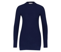 Gerippter Pullover 'Taffy' dunkelblau