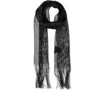 Viskose Schal schwarz