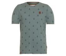 T-Shirt 'El Master del Buscho' grün