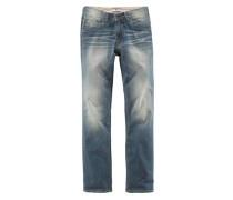 Stretch Jeans blau