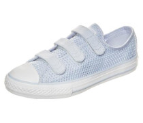 Chuck Taylor All Star 3V OX Sneaker Kinder hellblau